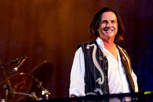 Front Man: Steve Hogarth has been with the band 25 years now