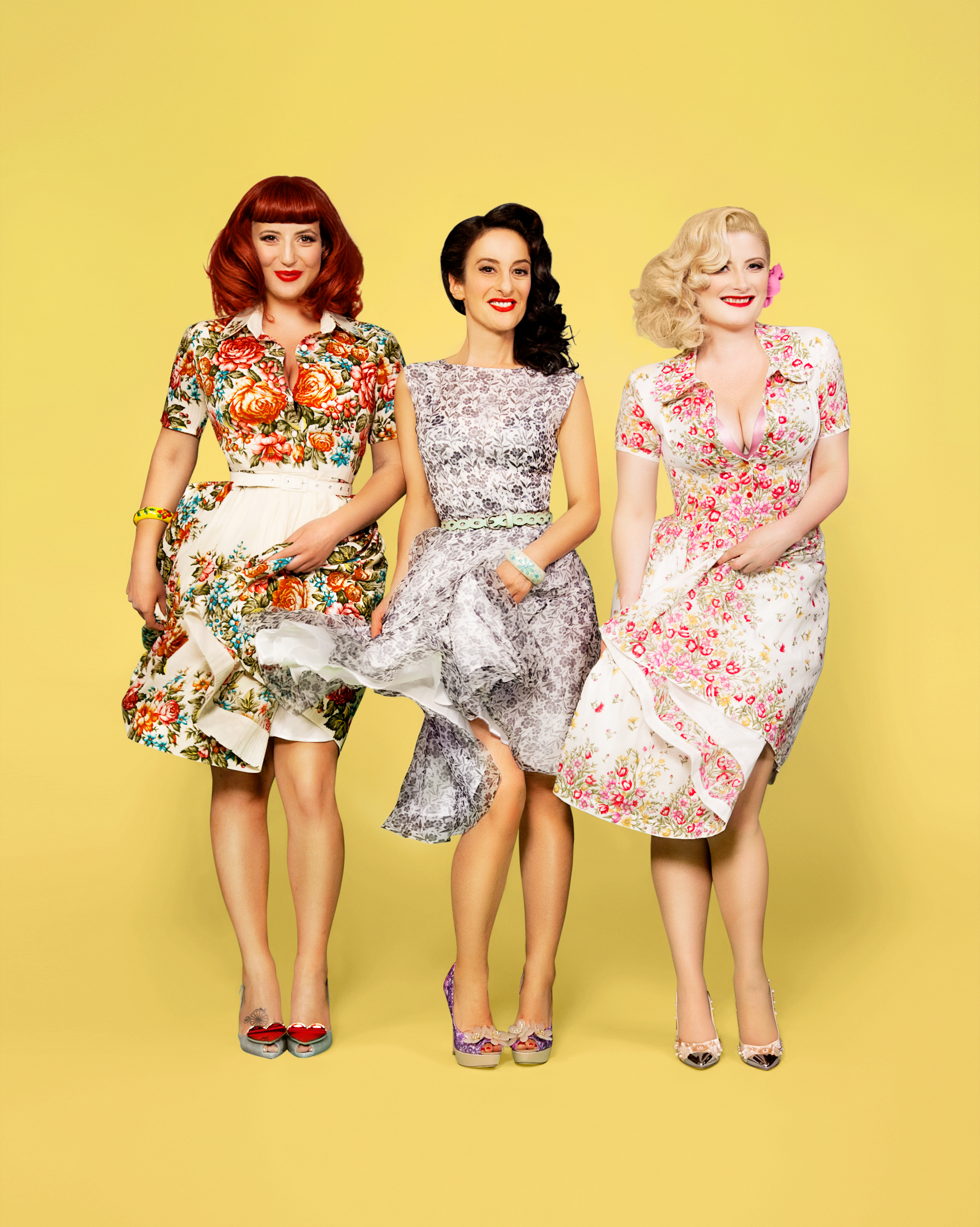 The Fairy Godmothers Of Swing Pop Drop By The Puppini