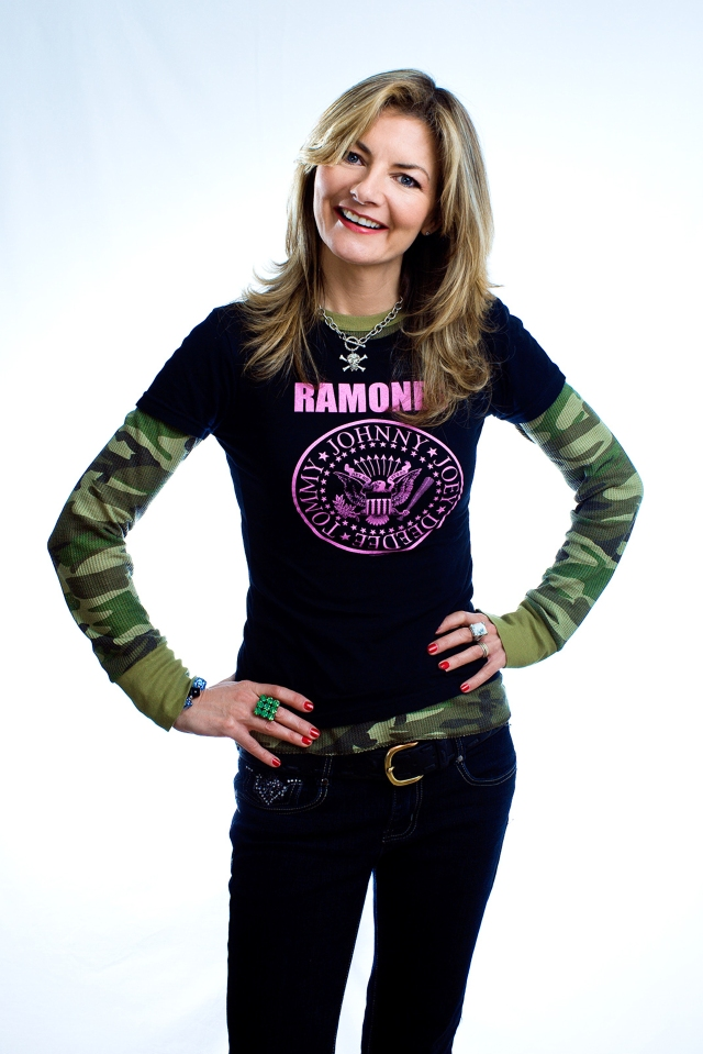 Hey Jo Let's Go: Drummer turned comic Jo Caulfield (Photo: http://www.jocaulfield.com/)