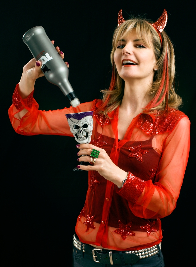 Devilish Antics:  Jo Caulfield (Photo: http://www.jocaulfield.com/)