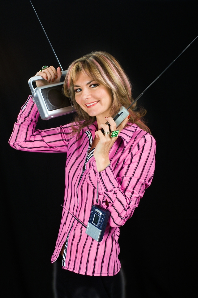 Tuned In: Jo Caulfield  (Photo: http://www.jocaulfield.com/)