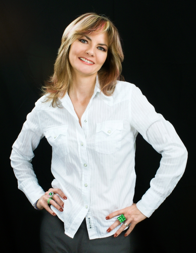 Visiting You:  Jo Caulfield  (Photo: http://www.jocaulfield.com/)