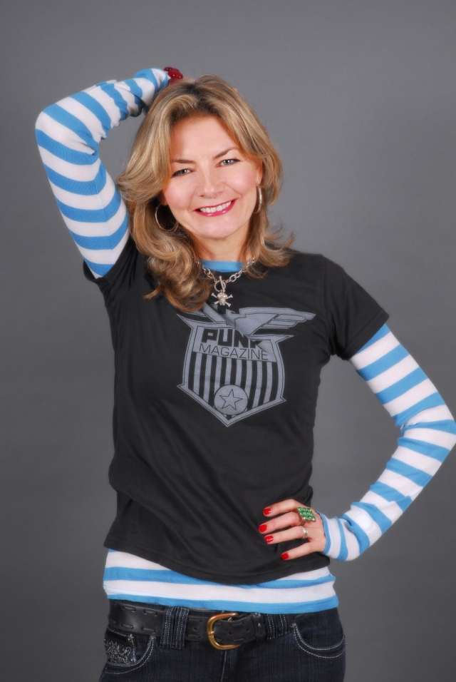 Jo Cool: Comedian Jo Caulfield could be heading your way (Photo: http://www.jocaulfield.com/)