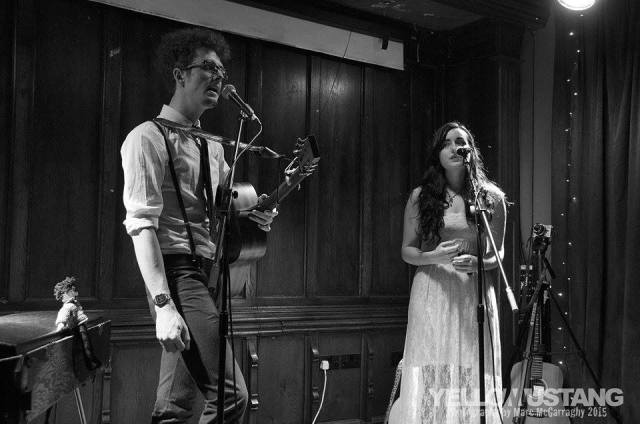 Sweet Harmonies: Finch and the Moon's Lee Parry and Caitlin Gilligan (Marc McGarraghy/Yellow Mustang Photography)