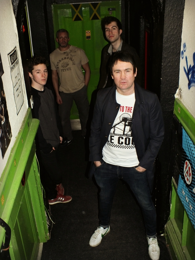 Bright Future: : The Nouvelles, with Johnnie out front in his Shout to the Top t-shirt