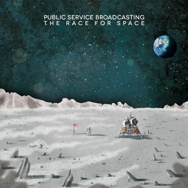 Public Service Broadcasting - The Race For Space US cover