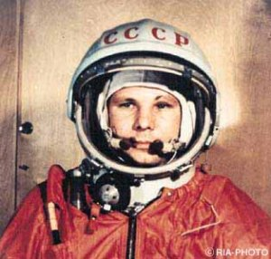 World Hero: Soviet Union cosmonaut Yuri Gagarin