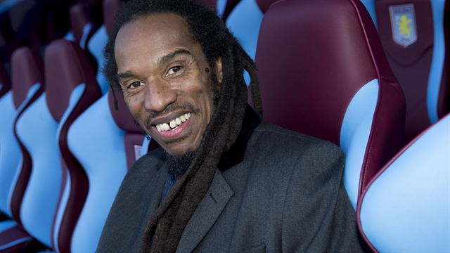 True Villan: Benjamin Zephaniah is a committed Aston Villa fan (Photo: http://www.avfc.co.uk/)