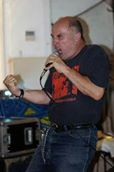 Poetic Licence: Attila the Stockbroker in live action (Photo: Attila the Stockbroker)