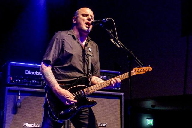 Guitar Man: Baz Warne in action at Cardiff on the March On tour (Photo: Warren Meadows)
