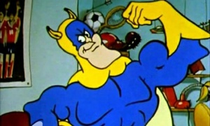 Ever Alert: General Blight is no match for Eric, aka Bananaman