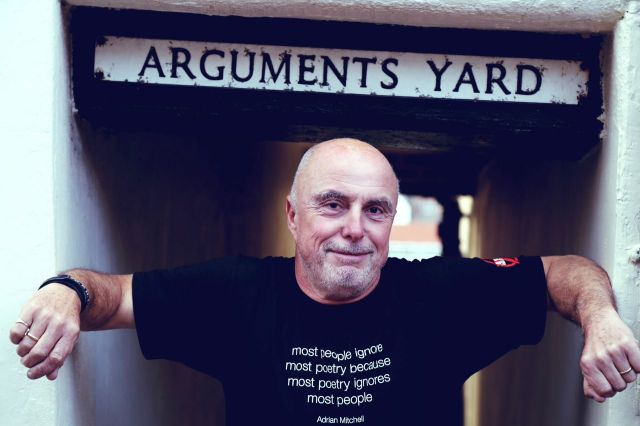Cover Star: Attila the Stockbroker visits Whitby and the address that gave his forthcoming autobiography its name (Photo: Attila the Stockbroker)
