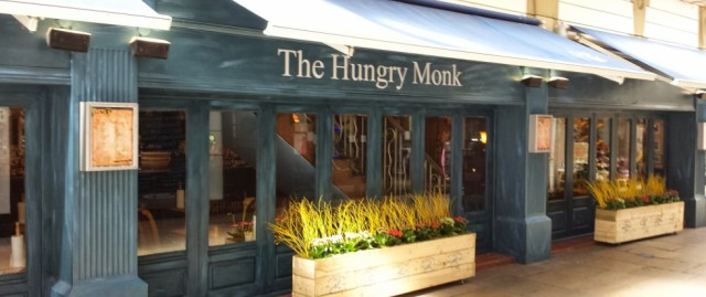 Arcade Foyer: The Hungry Monk in Southport, ready to receive Attila the Stockbroker on March 20th