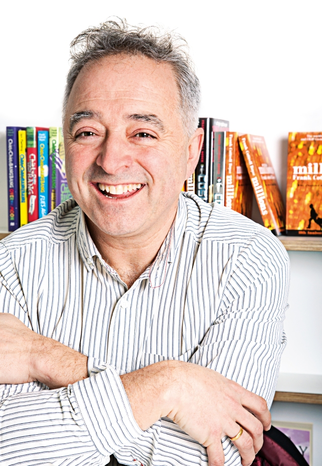 Tracked Down: Frank Cottrell Boyce (and some might call him elusive)