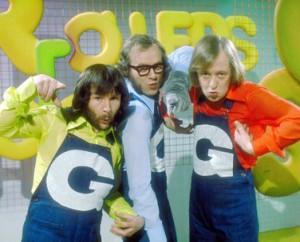 Gee Up: Bill, Graeme and Tim monkey around
