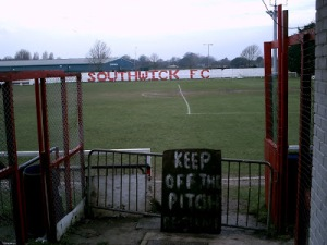 Wickers Way: Southwick FC's Old Barn Way home (Photo: http://hoppysnaps.blogspot.co.uk/)