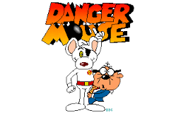 Old Pals: Dangermouse and Penfold were a blast for Mike Harding (Image: Cosgrove Hall Films)