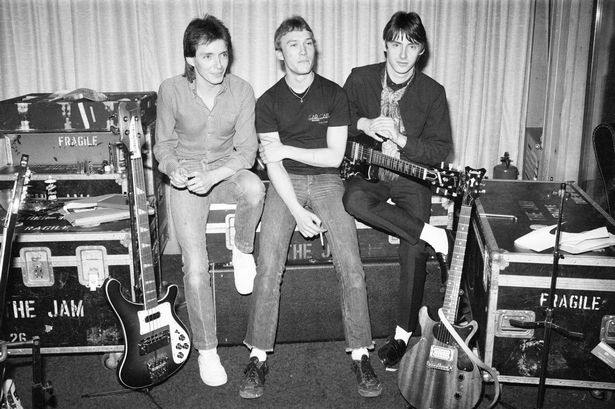Happy Days: The Jam in the studio, April 1980.