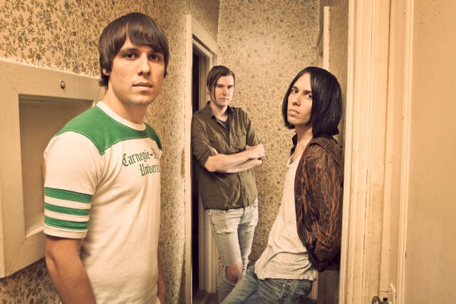 Wakefield Wonders: The Cribs, namely (from the left) Gary, Ross and Ryan Jarman