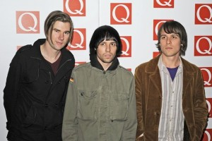 Q Tips: The Cribs on the red carpet for the Q awards at the Grosvenor House Hotel, London, in 2012