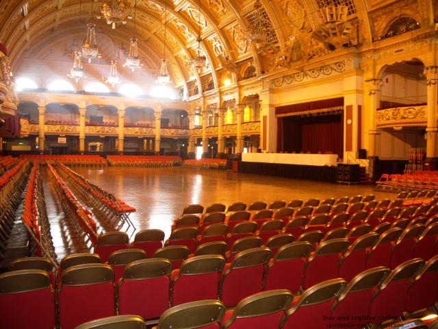 Ballroom Bliss: Blackpool's Empress Ballroom