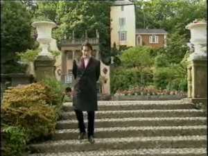 Released Prisoner: Jools filming at Portmeirion