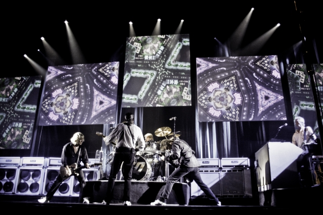 The Quo: The band rock out, again and again
