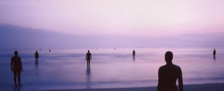 Another Place: Antony Gormley's men in the sea have a certain resonance for Francis Rossi