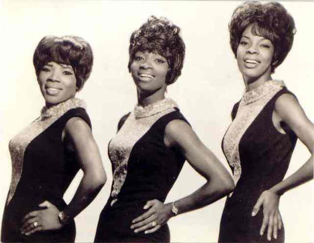 Early Days: The Vandellas back in the day. From the left -   Rosalind Ashford, Betty Kelly, Martha Reeves