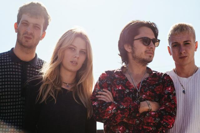 Cool Runnings: Wolf Alice - from the left: Joff Oddie, Ellie Rowsell, Joel Amey, Theo Ellis