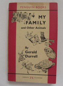 Major Influence: Gerald Durrell is a big hero of Steve's
