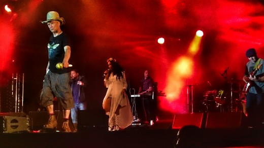 Stage Presence: Happy Mondays in live action (Photo: Mark James Allen)
