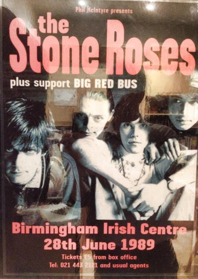 Waterfall Watershed: The second Big Red Bus support slot with The Stone Roses