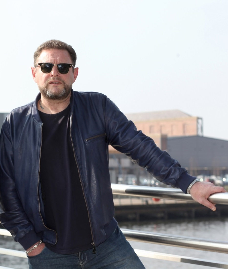 Salford Return: Shaun Ryder at the BBC (Photo: Karin Albinsson)