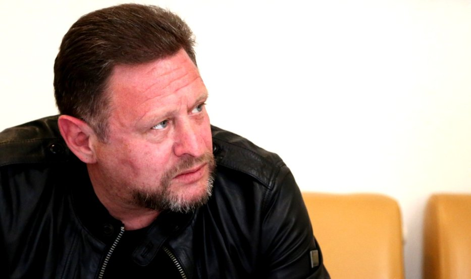Happy Man: Shaun Ryder (Photo: Elspeth Moore)