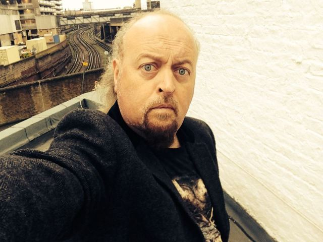 On Track: Bill Bailey, not knowingly averse to the odd whiteboard thinking session