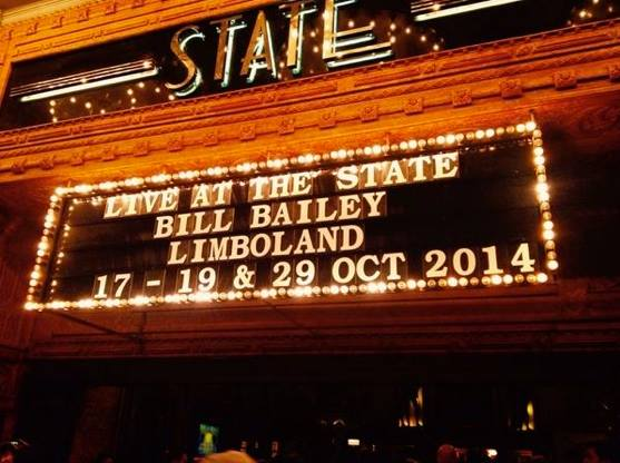 Down Under: This time last year, Bill was about to start his Sydney run of the Limboland tour