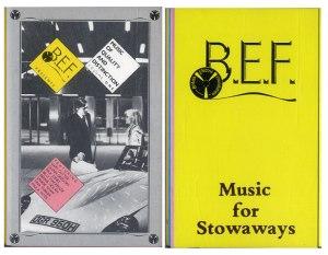 Foundation Stone: BEF celebrating the Sony Walkman era in 1980