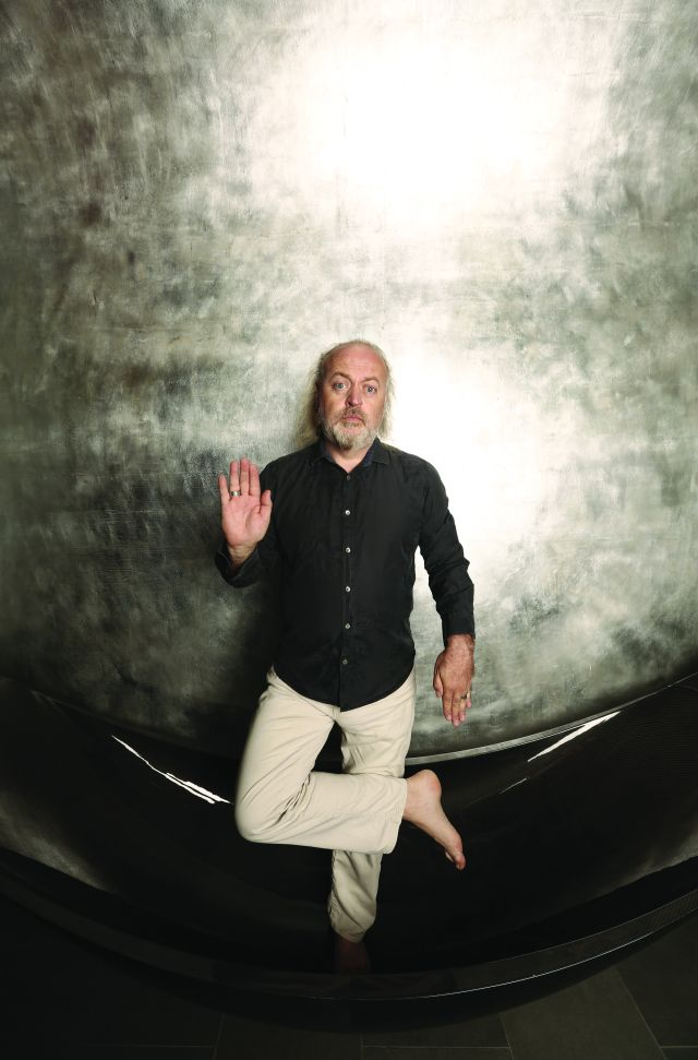 Limbo Lad: Bill Bailey, in a halfway place, yesterday