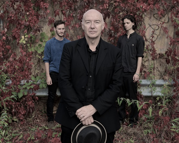 Three's Company: Midge Ure with his band, coming to a town near you