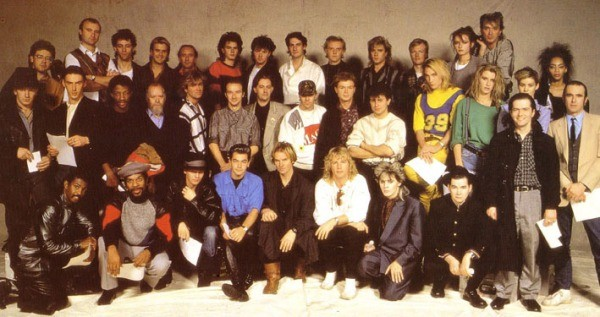 Band Aid; The original line-up
