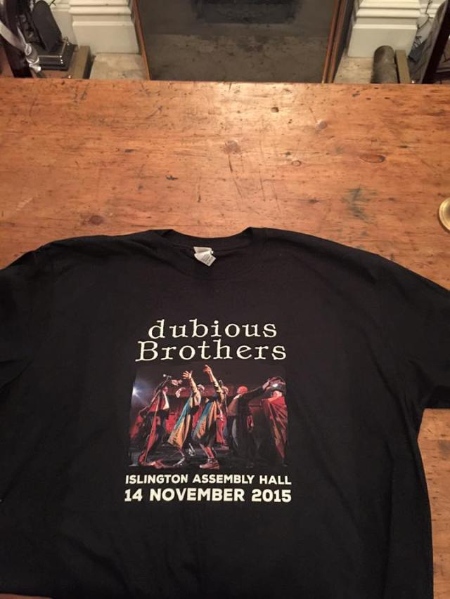 Tee Hee: The Dubious Brothers are back, and here's the proof