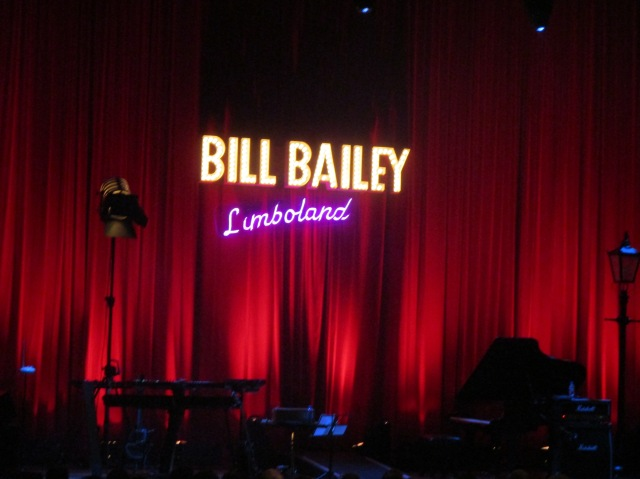 Expecting Bill: Before curtain-up at Preston Guild Hall (Photo: writewyattuk)