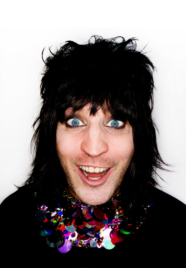 Boosh Baby: Noel Fielding is heading your way (Photo: Dave Brown)