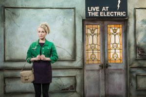 Electric Dreams: Lucy Beaumont waits for a bus home