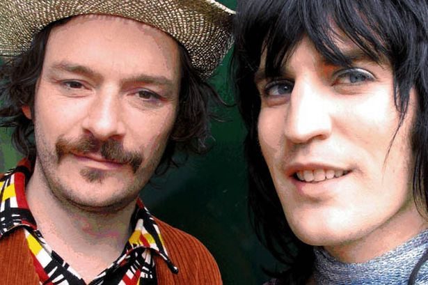 Mighty Alrighty : Julian Barratt and Noel Fielding (Photo: The Mighty Boosh!)