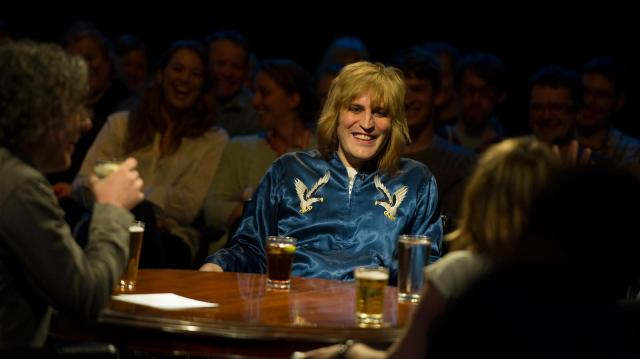 Untitled Sequence: Noel Fielding with Alan Davies and co on As Yet Untitled (Photo: Dave)