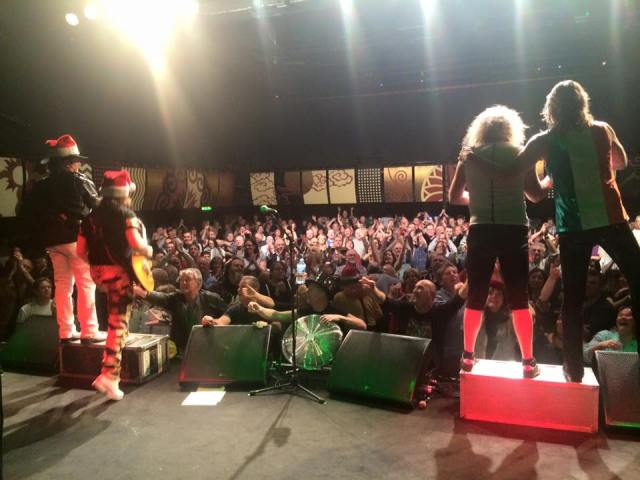 Dublin Rocks: Slade face up to a loving Vicar Street crowd (Photo: The Official Slade Facebook Page)