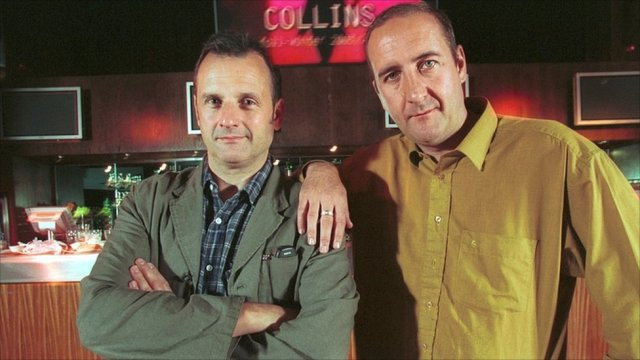 Rhythm Buddies: Mark Radcliffe and Marc Riley (Photo: BBC)