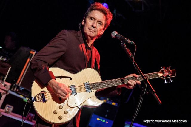 Bass Instinct: Bruce Foxton, performing with From The Jam at Cardiff Tramshed last December (Photo: Warren Meadows)
